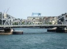 michigan street bridge - sturgeon bay