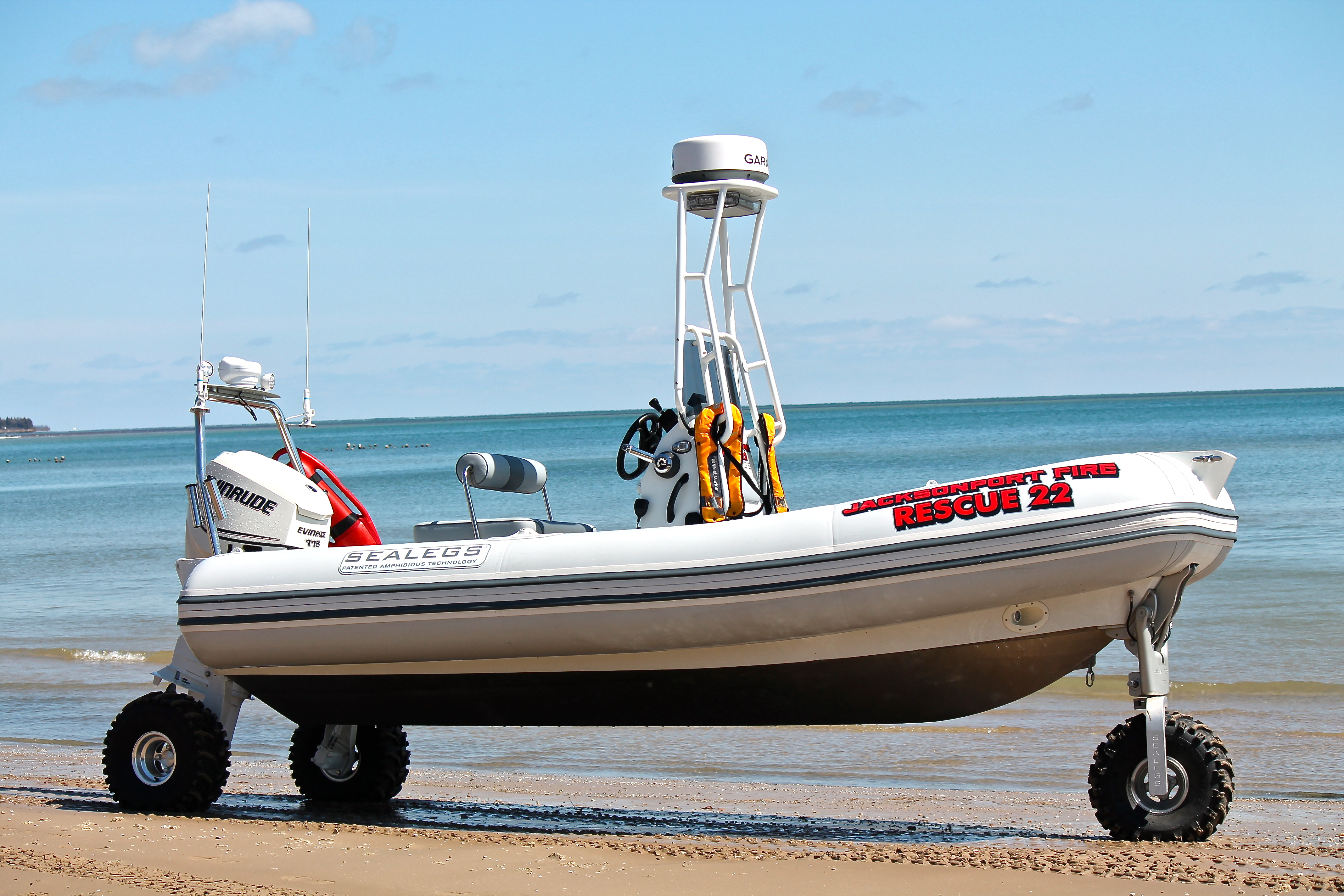Jacksonport Fire Department Has A New Boat Wdor