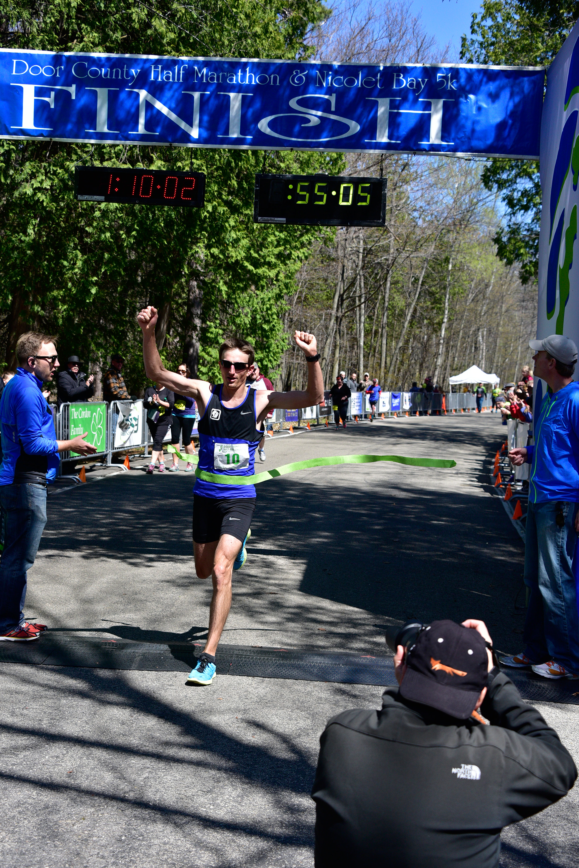2016 Door County Half Marathon Held Saturday, May 7, 2016 In Peninsula  State Park
